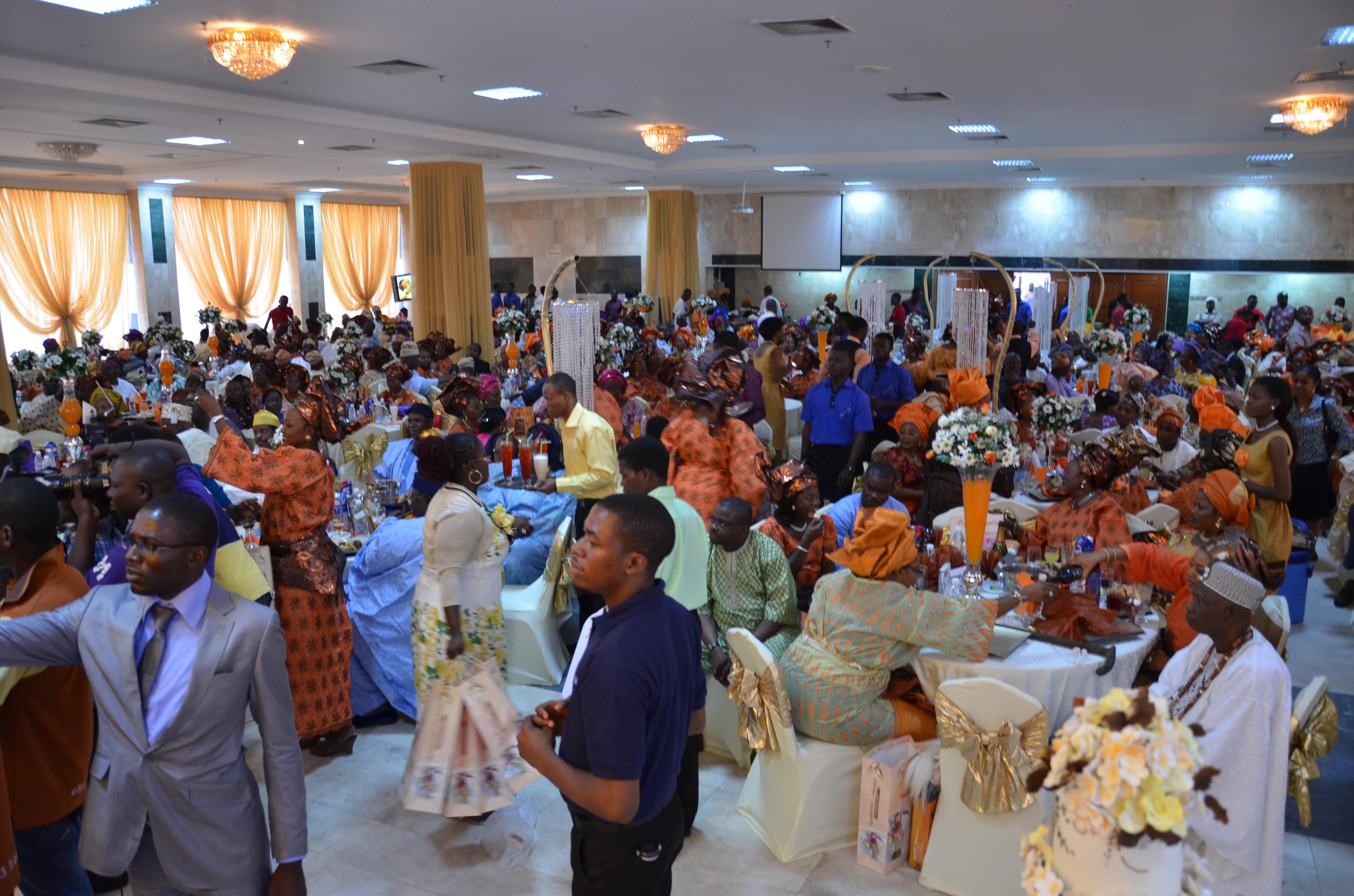 The Aguns Wedding Reception Held At City Hall Lagos Shuga Band