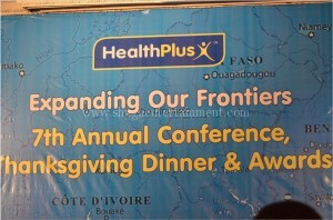 Healthplus Thanksgiving dinner and award nights