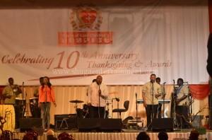 Shuga and the Shuga band